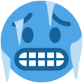 cold face emoji on twitter (twemoji)