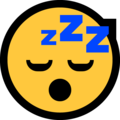 sleeping face emoji on microsoft windows