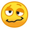 woozy face emoji on google android