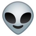 alien emoji on google android