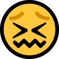 confounded face emoji on microsoft windows