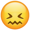 confounded face emoji on whatsapp
