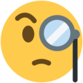 face with monocle emoji on twitter (twemoji)
