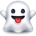 ghost emoji on facebook messenger