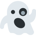 ghost emoji on twitter (twemoji)
