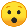 hushed face emoji on google android