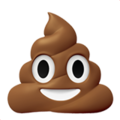 pile of poo emoji on apple iphone iOS