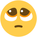 pleading face emoji on twitter (twemoji)