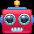 robot emoji on whatsapp