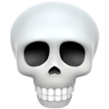 skull emoji on apple iphone iOS