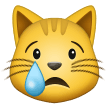crying cat emoji on samsung
