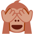 see-no-evil monkey emoji on twitter (twemoji)