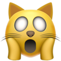 weary cat emoji on apple iphone iOS
